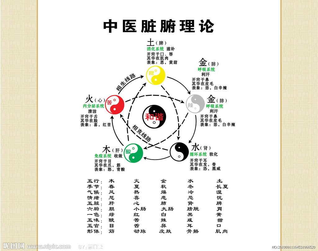 中国养生五行,懂了这些你就是半个大师 养生之道 第2张