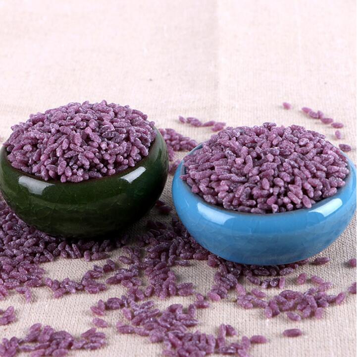 紫薯米营养丰富更比白米饭好吃 素食养生 第2张